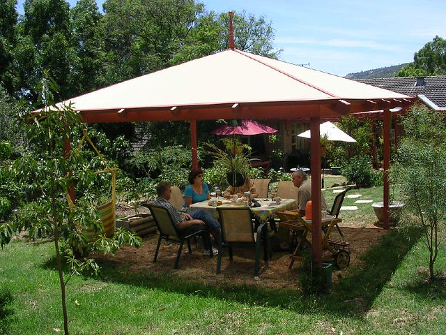 Pop-up Canopy Pergola