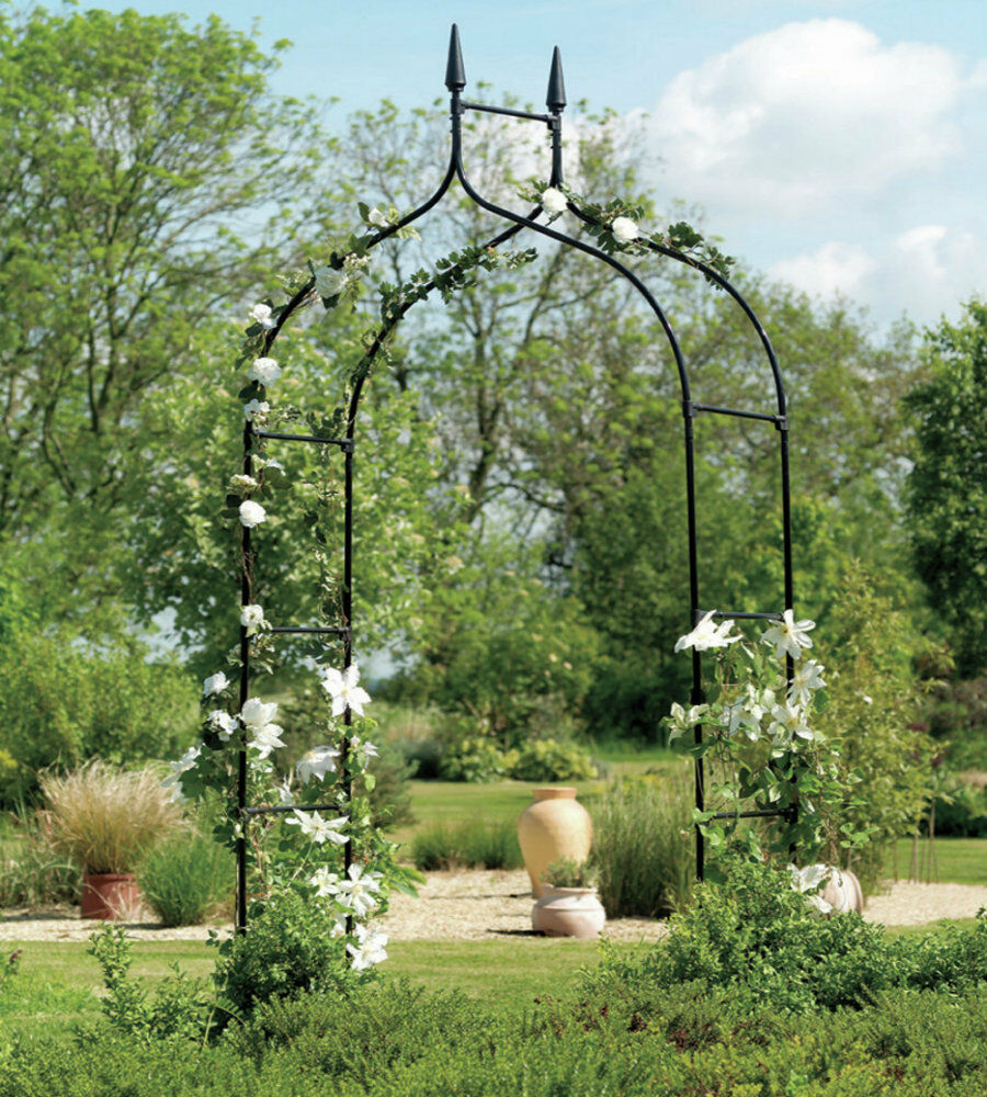 Iron Arched Arbor