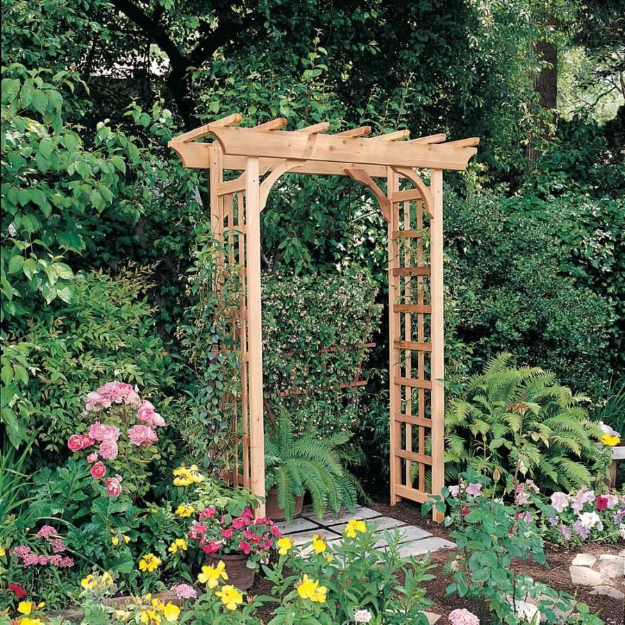 Garden Entry Arbor