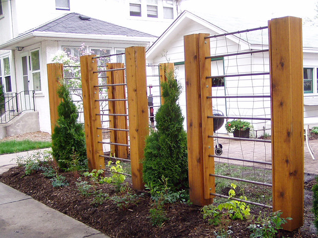 Timber Frame Trellis