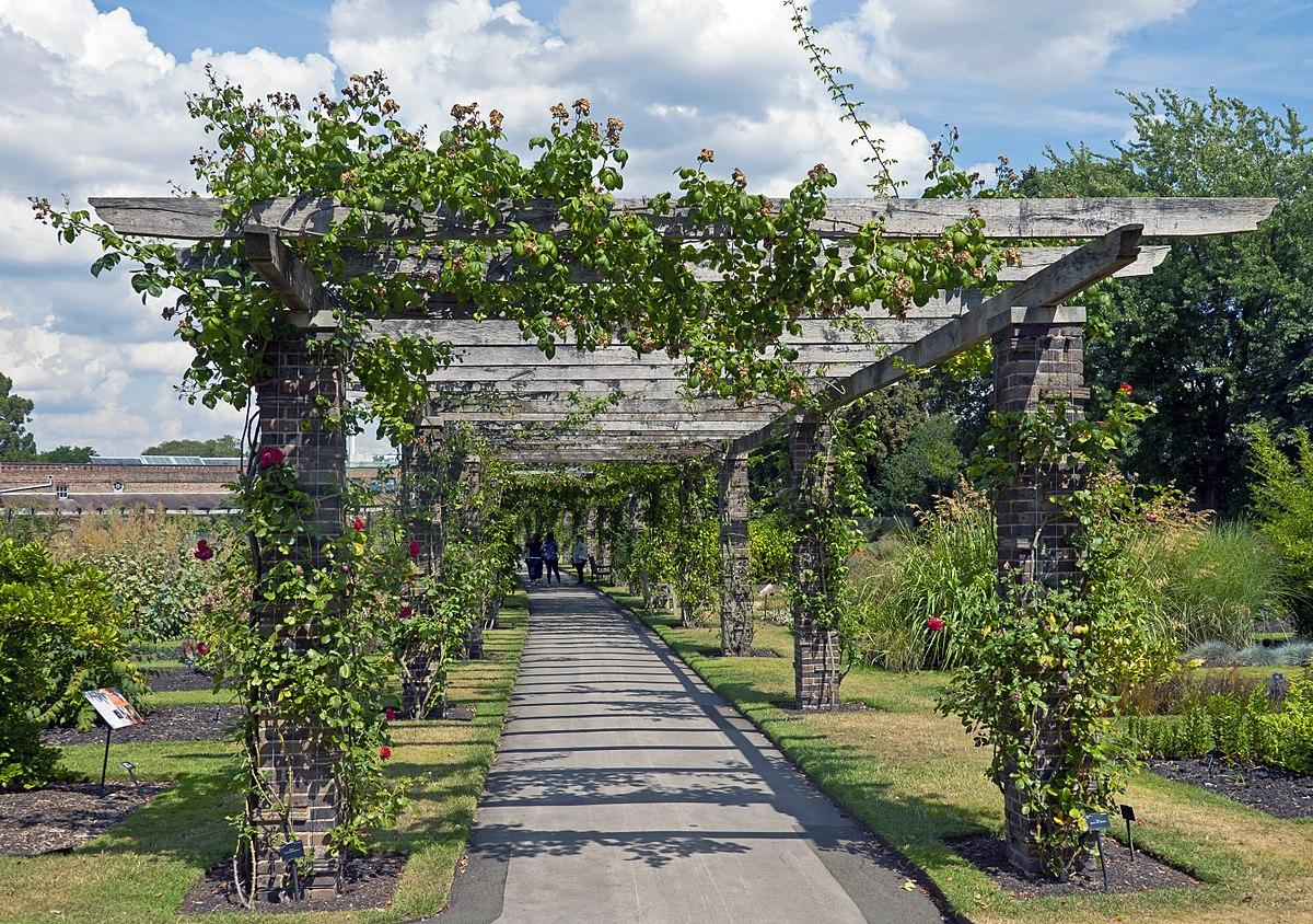 Walkway Trellis Arbor